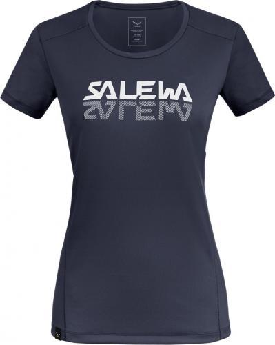 Salewa Koszulka damska  Sporty Graphic Dry W s/s Tee navy blazer r. S