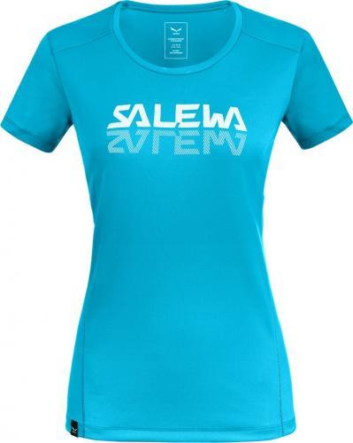 Salewa Koszulka damska Sporty Graphic Dry W s/s Tee maui blue r. S