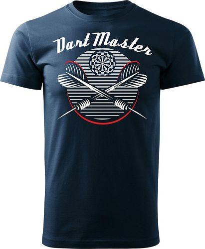 Topslang Koszulka z rzutkami Dart Master męska granatowa REGULAR S