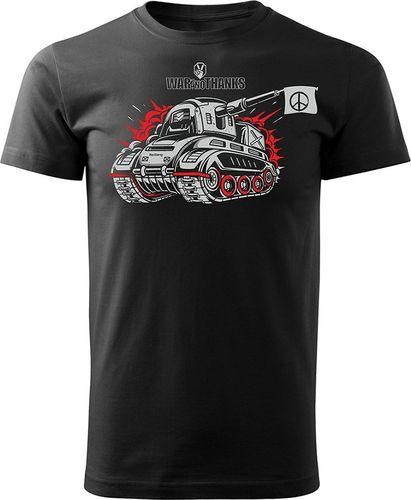 Topslang Koszulka World of Tanks parodia męska czarna REGULAR S