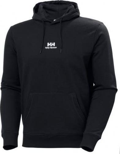 Helly Hansen Bluza męska YU20 Logo Hoodie Ebony r. M (53459_980)