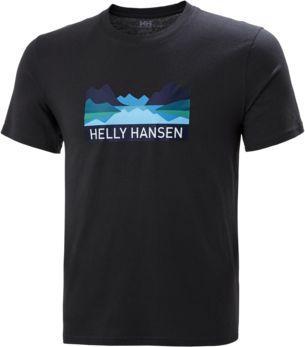 Helly Hansen Koszulka męska Nord Graphic T-shirt Ebony r. XL (62978_980)