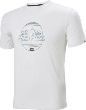 Helly Hansen Koszulka męska Skog T-shirt White r. M (62856_002)