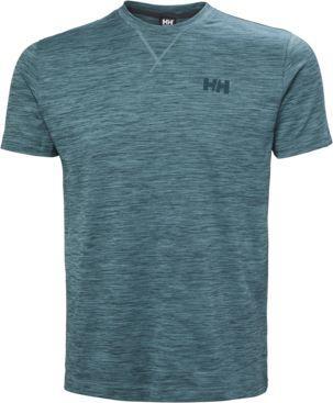 Helly Hansen Koszulka męska Verglas Go T-shirt North Teal Blue r. L (62949_516)