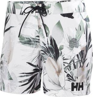 "Helly Hansen Spodenki damskie Board Short 6"" Cream Esra Print r. S (34099_034)"
