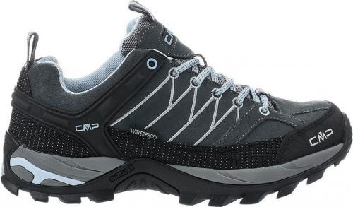 CMP Buty damskie Rigel Low Wmn Trekking Shoe Wp Graffite-Azzurro r. 37 (3Q54456-77BD)