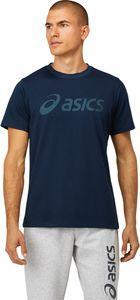 Asics Koszulka męska Big Logo Tee Performance french blue/smke blue r. L