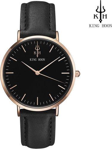 Zegarek King Hoon Star czarny (KHSCZC)
