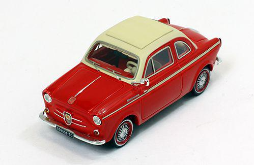 Ixo NSUFIAT Weinsberg 500 1960 (red) (PR0021)