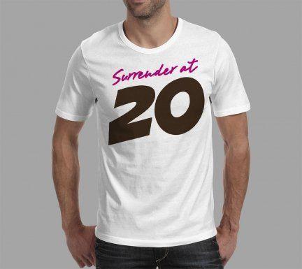 Geekster Koszulka Geekster - Surrender at 20