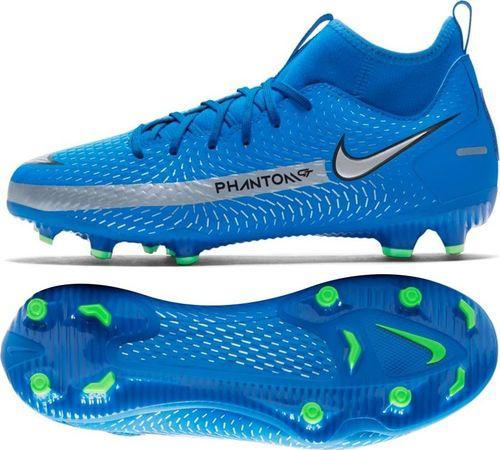 Nike Buty Nike JR Phantom GT Academy DF FG/MG CW6694 400 CW6694 400 niebieski 36