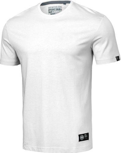 Pit Bull West Coast Koszulka Pit Bull No Logo 2020 - Biała L