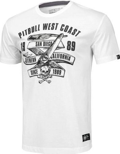 Pit Bull West Coast Koszulka Pit Bull Oldschool Razor'20 - Biała L