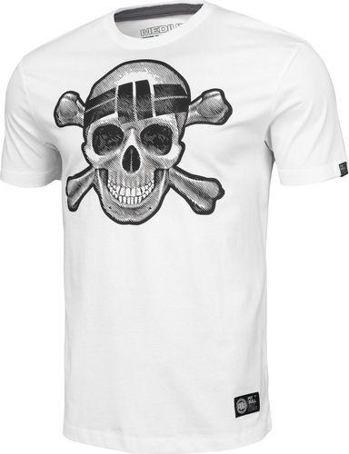 Pit Bull West Coast Koszulka Pit Bull Skull Wear'20 - Biała L