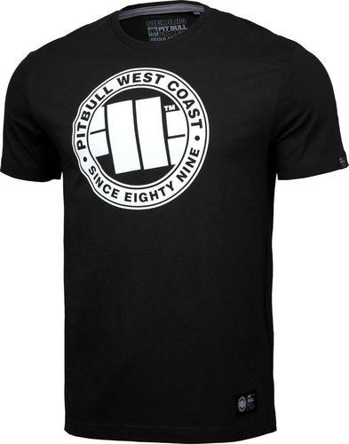 Pit Bull West Coast Koszulka Pit Bull Chest Logo'20 - Czarna L