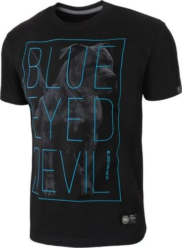Pit Bull West Coast Koszulka Pit Bull Blue Eyed Devil 2 - Czarna M