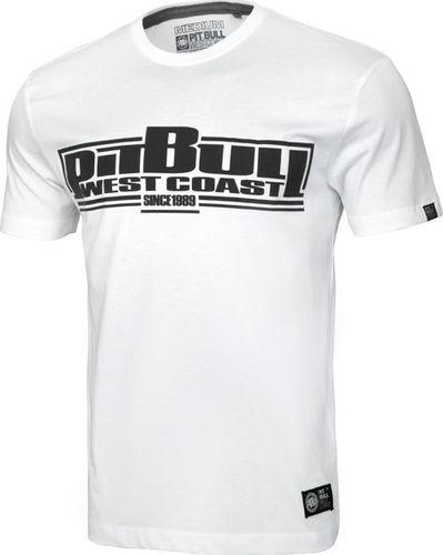 Pit Bull West Coast Koszulka Pit Bull Classic Boxing '20 - Biała M