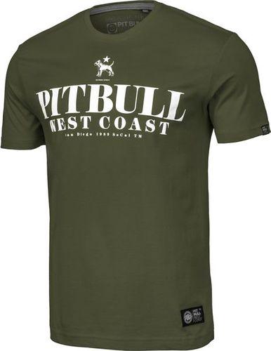 Pit Bull West Coast Koszulka Pit Bull Flamingo'19 - Oliwkowa XXL