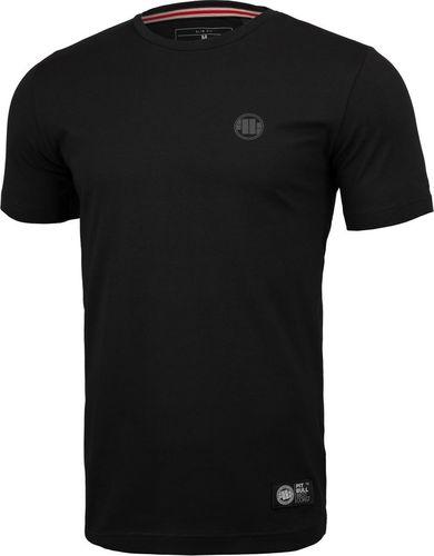 Pit Bull West Coast Koszulka Pit Bull Slim Fit Lycra Small Logo'20 - Czarna S