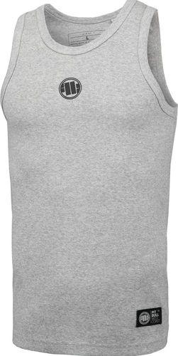 Pit Bull West Coast Tank Top Pit Bull Rib Small Logo'20 - Szary M
