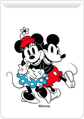Kieszonka na kartę Mickey i Minnie 001 Disney biała