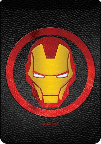 Kieszonka na kartę Iron Man 001 Marvel czarna
