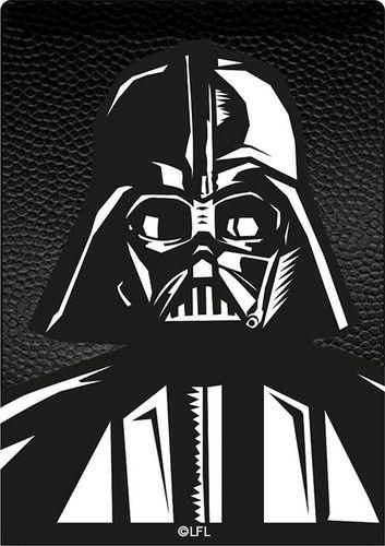 Kieszonka na kartę Darth Vader 001 Star Wars czarna