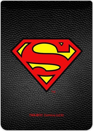 Kieszonka na kartę Superman 002 DC czarna
