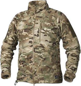 Helikon-Tex bluza Alpha TACTICAL Grid Fleece Jacket - Tactical Camo L