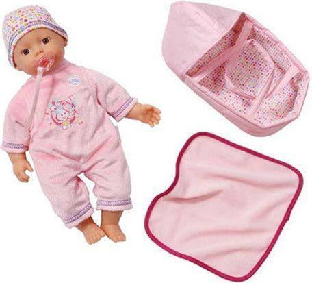 Zapf BABY BORN My little Baby Born z kocykiem i nosidełkiem  ( 820322 )