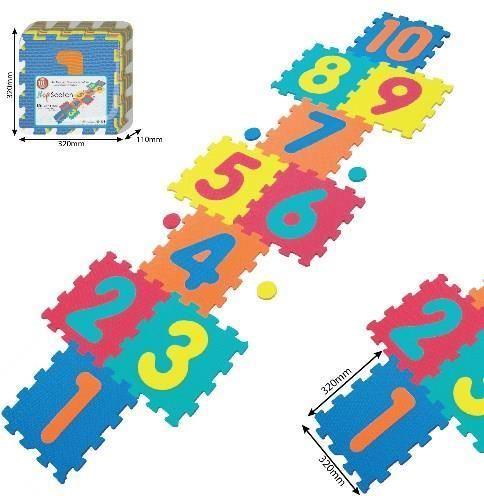 Smily Play SMILY Mata piankowa, cyfry 32(64)x244cm - 1009/10B3