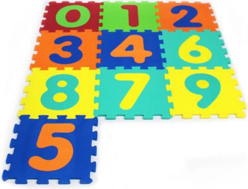 Artyk Puzzle piankowe 10 el. (1001B-10)