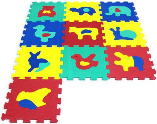 Artyk ARTYK 10 EL. Puzzle piankowe Zwierzęta - X-ART-1005B-10