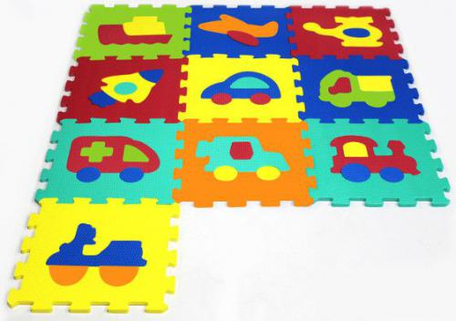 Artyk Puzzle piankowe Pojazdy 10 el.(1007B-10)