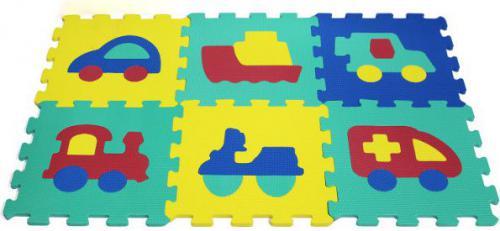 Artyk 6 elementów Puzzle piankowe X-ART-1007B-6