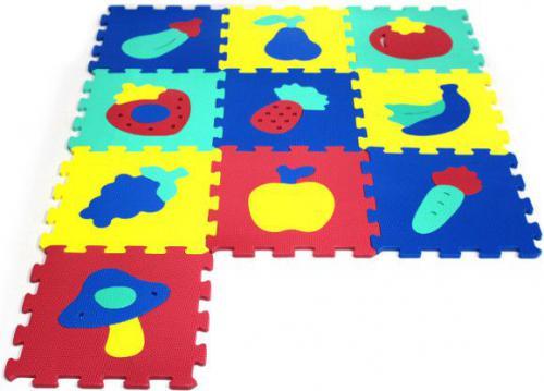 Artyk Puzzle piankowe Owoce (X-ART-1016B-10)
