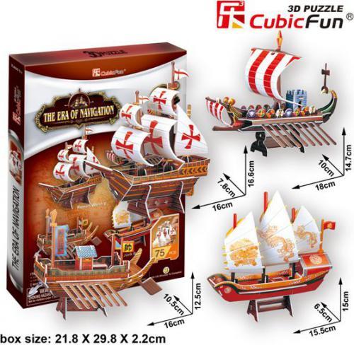 Cubicfun PUZZLE 3D Voyage Century - 01596