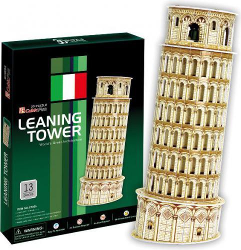 Cubicfun Krzywa Wieża Pisa Tower Puzzle 3D  (C0706H)