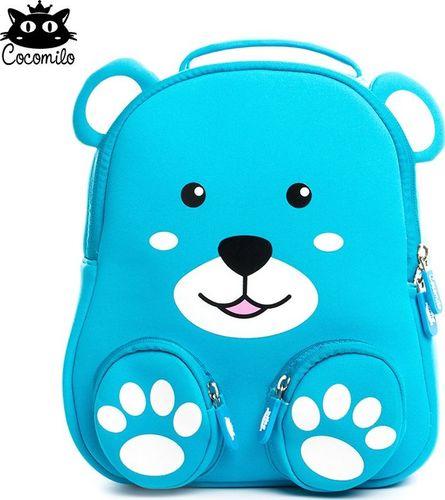 Cocomilo Cocomilo, plecak przedszkolny, Niebieski Niedźwiadek