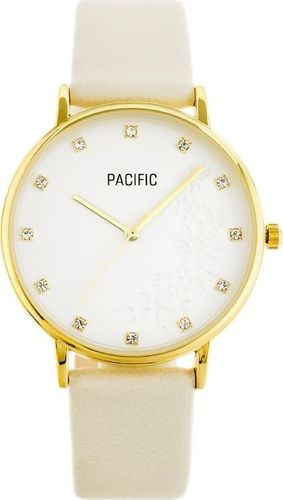Zegarek Pacific ZEGAREK DAMSKI PACIFIC X6183 - beżowy (zy669b)
