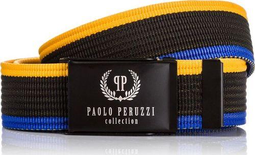 Paolo Peruzzi KOLOROWY PASEK PARCIANY PAOLO PERUZZI PW-07-PP-125CM