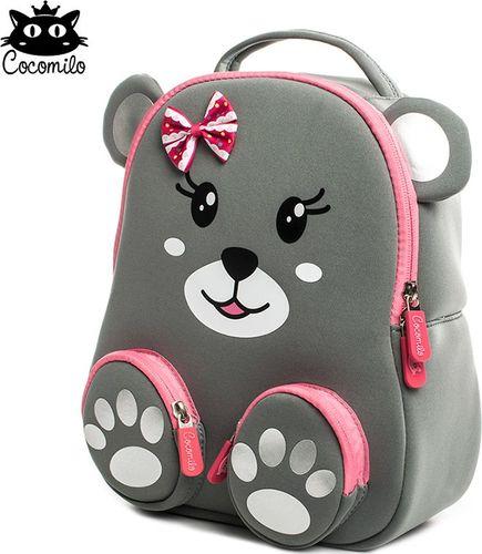 Cocomilo Cocomilo, plecaczek przedszkolny, Szary Niedźwiadek, wersja mini (PKZ-101m)