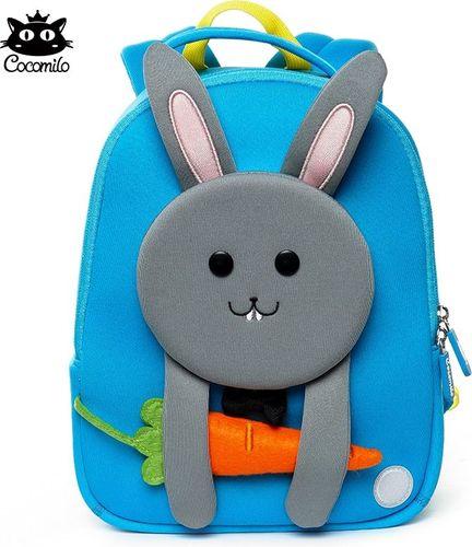 Cocomilo Cocomilo, plecaczek dla przedszkolaka, Królik niebieski
