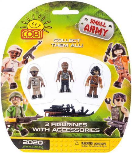 Cobi Klocki Small Army 3 Figurki z Akcesoriami (2020)