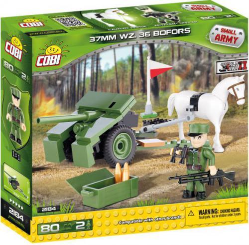 Cobi Klocki Small Army Bofors  (2184)