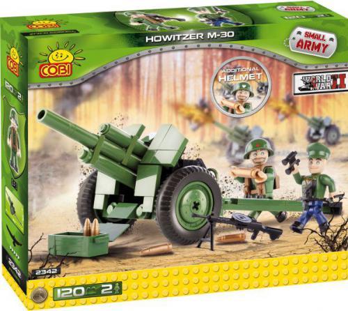 Cobi Klocki COBI Armia Działo Howitzer M30 120 kl. - 2342