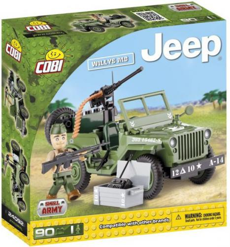Cobi Klocki Jeep Willys MB 90 kl. (24092)