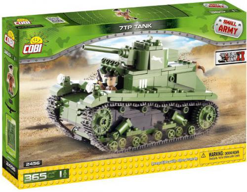 Cobi Klocki Small Army Czołg Lekki 7 TP - 2456