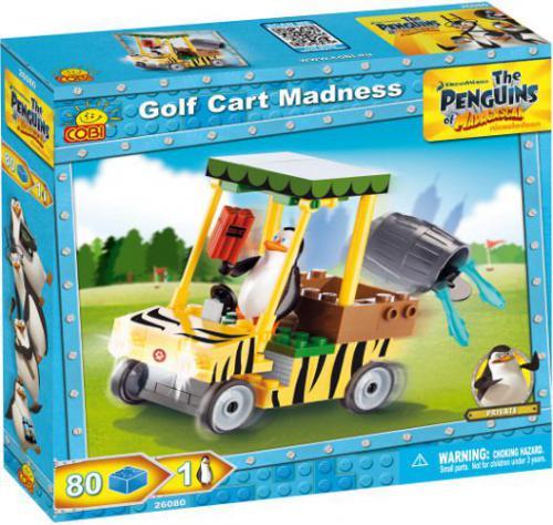 Cobi Klocki Pingwiny Wózek golfowy zest. 80 kl.  (26080)