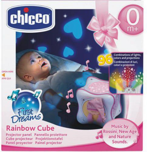 Chicco Tęczowa kostka różowa - 024301